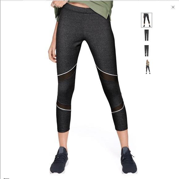 d0b640a648 PINK Victoria's Secret Pants | Pink Cotton Mesh Ankle Leggings ...